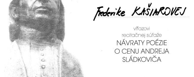 Prednes poézie o cenu Andreja Sládkoviča v Banskej Bystrici