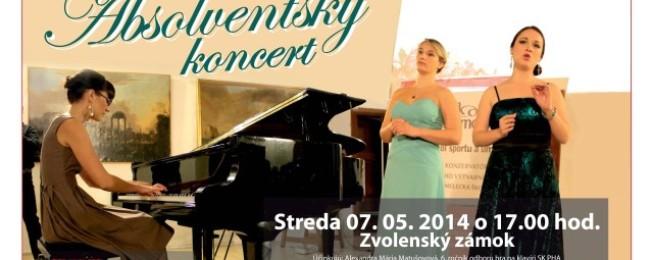 Absolventský koncert – Zvolenský zámok