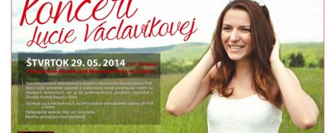 Koncert Lucie Václavíkovej