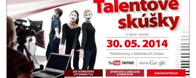 II. kolo talentových skúšok 30. 05. 2014