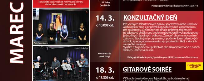 Program predstavení na marec 2015
