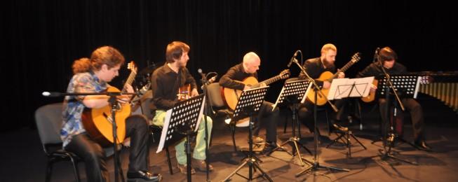 Gitarové soirée v Divadle JGT vo Zvolene