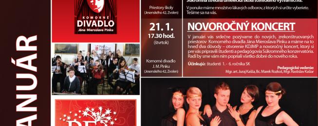 Program na január 2016