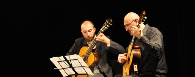 Absolventský koncert Tomáša Vaška a Jozefa Klimka.