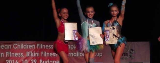 Majstrovstvá Európy vo fitness detí
