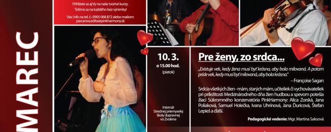 Program predstavení, koncertov a podujatí na marec 2017