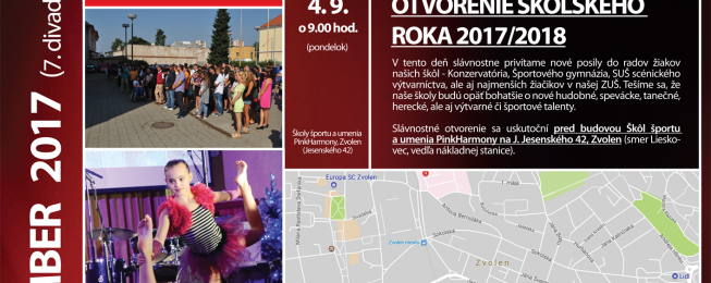 Program predstavení na september 2017