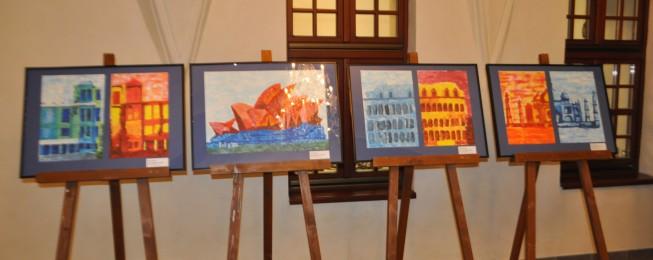 Výtvarná výstava – Farba, tvar a ja