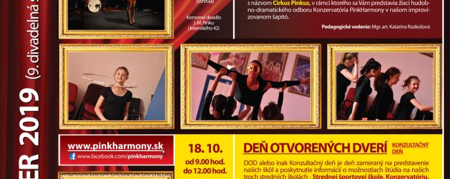 Program predstavení na október 2019