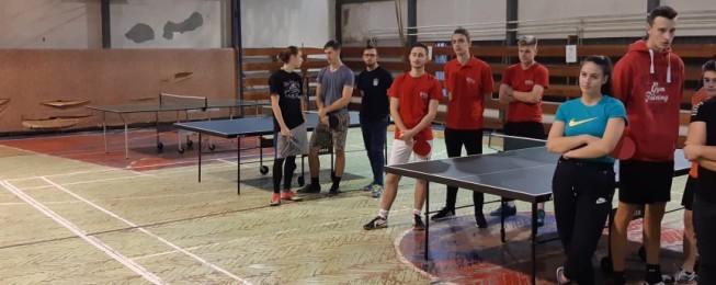 Školská súťaž v stolnom tenise