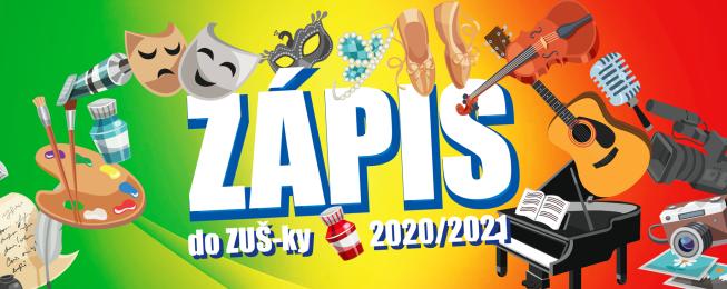 Zápis ZUŠ 2020/2021