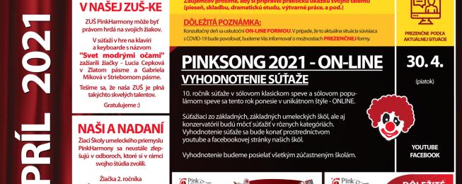 Program KDJMP na apríl 2021